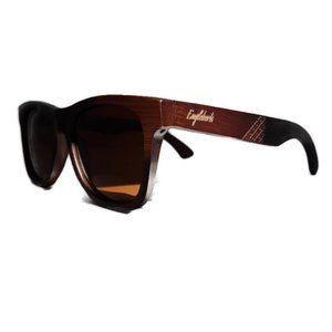 Ebony Wooden Sunglasses, Tea Polarized Lenses